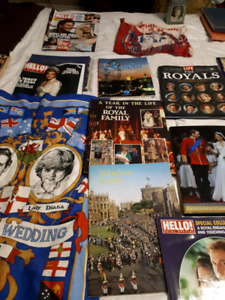Must sell my small royal collection!
