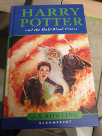 Harry Potter and the Half Blood Prince Hardback Book 1st Edition