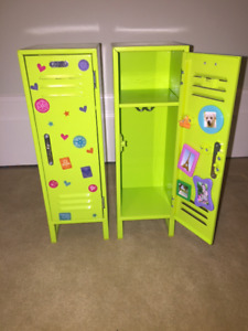 "American Girl School Locker for 18"" Dolls"