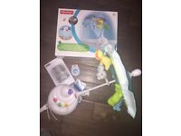 Fisher Price Precious Planets Cot Mobile. As new with box. £30