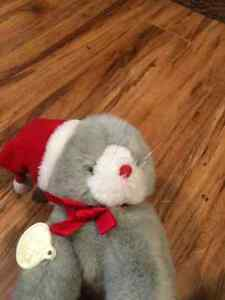 Stuffed Christmas Cat Kitchener / Waterloo Kitchener Area image 1