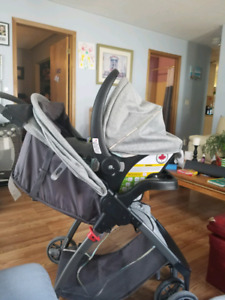 Safety first car seat stroller combo GUC