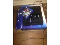 Sony PS4 with 8 games