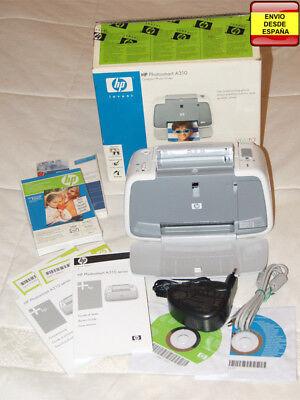 Impresora fotografica USB HP Photosmart A310, usado segunda mano  Embacar hacia Mexico