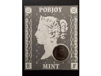 The PENNY BLACK STAMP Coin