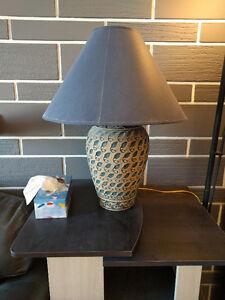 Lampe de salon avec abat-jour