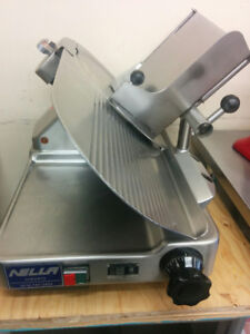 $1000 NELLA Used Commercial Meat and Cheese Slicer