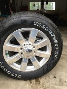"""20"""" Rims and tires brand new."""
