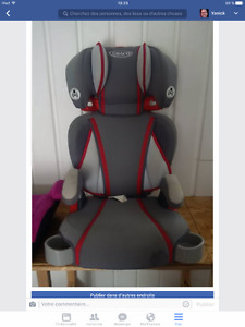High booster seat
