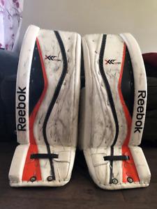 Reebok X28 Senior goalie pads 34+1