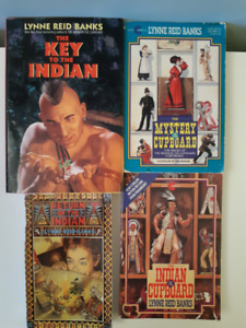Indian in the Cupboard Series - 4 books