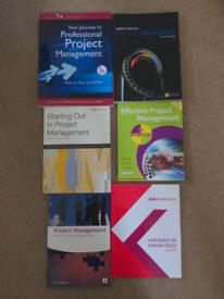 Project management books x 6