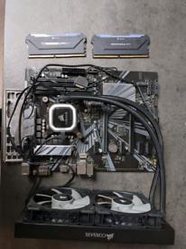 i7 9700k, 32GB Corsair Pro RAM, ASUS Z370PII MOBO, Corsair Cooler