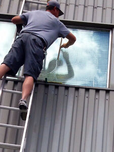 ACCURATE WINDOW CLEANERS-EAVESTROUGH CLEANING-519-719-1800 London Ontario image 3