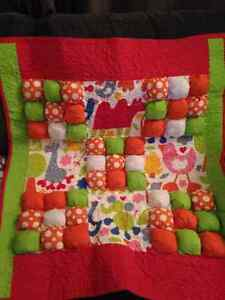 ORIGINAL HANDMADE BUBBLE QUILT