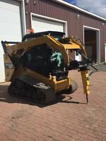Landscaping,snow removal,brick work,screened topsoil, equipment