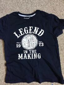 Nine Boys T Shirts age 7-8 .