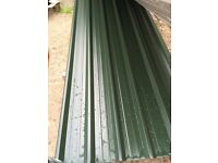 Brand new juniper green box profile sheets