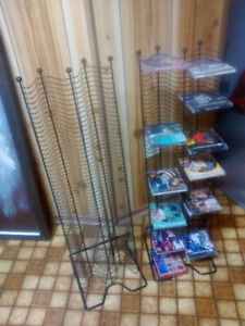 Metal CD Tower, for 120 CDs, $10