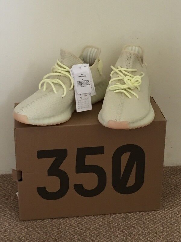 7f32cf186 Adidas Yeezy Boost 350 v2 Butter in a UK size 9