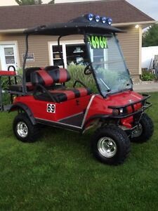 Loaded Custom Golf Carts Sale Gas & Electric