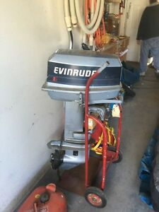 Zodiac Boat with Evinrude 20 hp engine