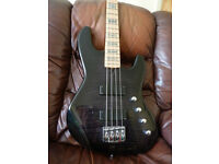 Overwater Contempory Jazz Bass Guitar - Not Fender, Gibson, Warwick, Ibanez
