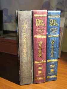Lord of the Rings – Special Extended Edition DVDs
