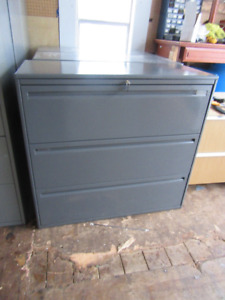 3 DRAWER EXTRA WIDE LATERAL FILING CABINETS $55