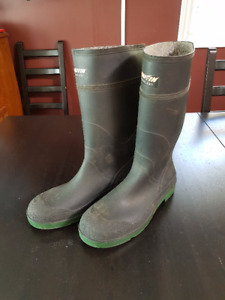 Baffin Steel Toed Rubber Boots - Men's Size 14