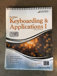ADMN1308 - Document Processing - Keyboarding and Applications I