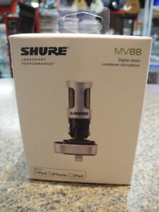 Shure MV88 Digital Stereo Condenser Microphone for iOS NEW