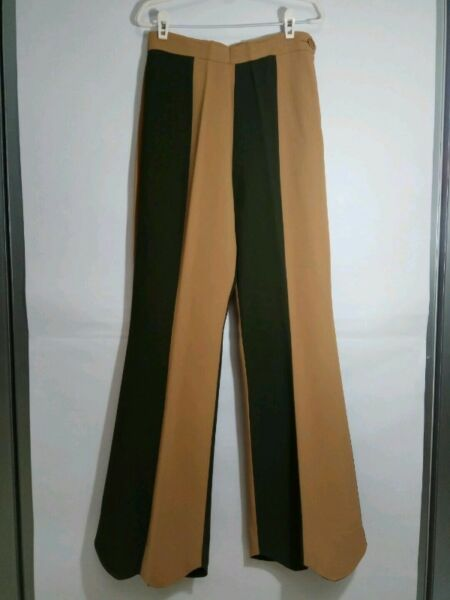 Authentic MOSCHINO COUTURE Pants (size UK10 / USA8) - Brown / Army Green - New