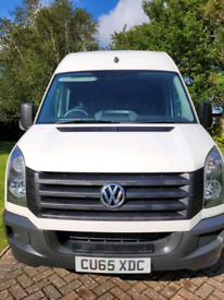 Motor home Volkswagon Crafter