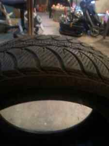 4 winter tires without rims Kingston Kingston Area image 1