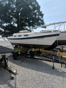 Tanzer 22 Ready to sail with trailer