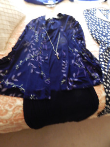 2 Pc. Navy Blue Outfit, LIKE NEW, + More Dresses +