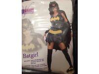 Bat girl fancydress size 10/14