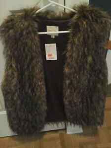 New Faux-Fur Vest