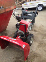 Used Snowblowers, parts only