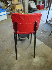 red vintage stool step ladder London Ontario image 3