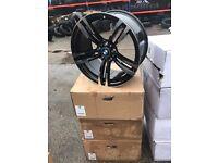 "19"" alloy wheels alloys rims BMW 5x120 tyre tyres Vw Volkswagen transporter t5"