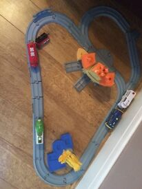 Train set and trains
