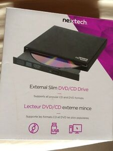 Nextech external dvd/cd drive