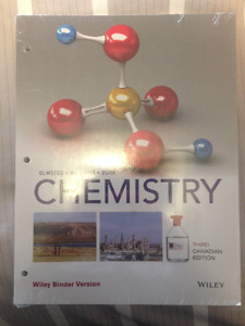 Chemistry Third Canadian Edition by Olmsted, Williams, and Burk