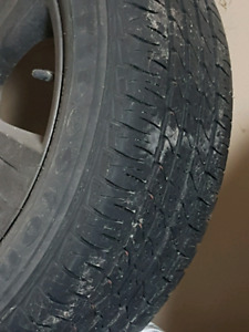"""Tire and Mags 17"""" jeep patriot"""