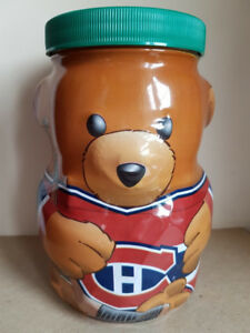 Kraft NHL Glass Bear Banks x4