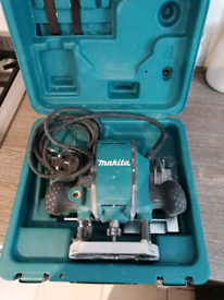 Makita mini plunge router 1/4