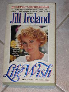 A BEST-SELLER.. A True Story..JILL IRELAND...LIFE WISH...