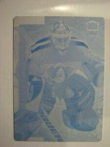 1999-00 Pacific Dynagon Ice #9 Guy Hebert Printing Plate!
